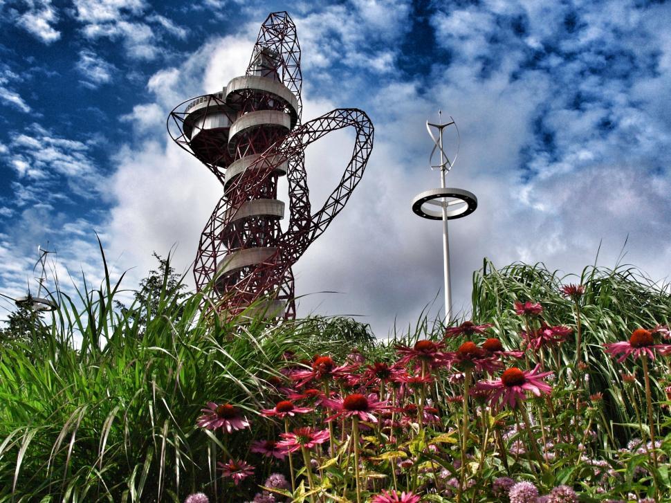 Orbit scuplture at Olympic Park (copyright SImon MacMichael)