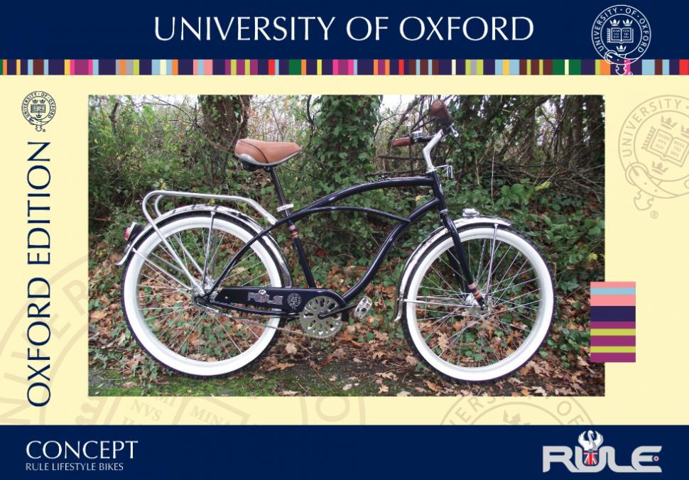 Oxford University bike