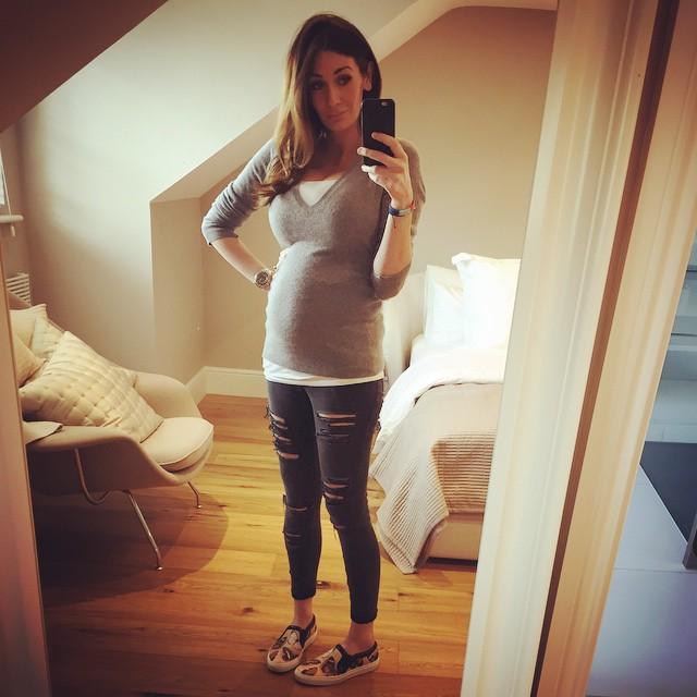 Peta Todd S Pregnant Selfie Instagram