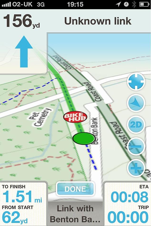 Bike Hub 2.0 app 1