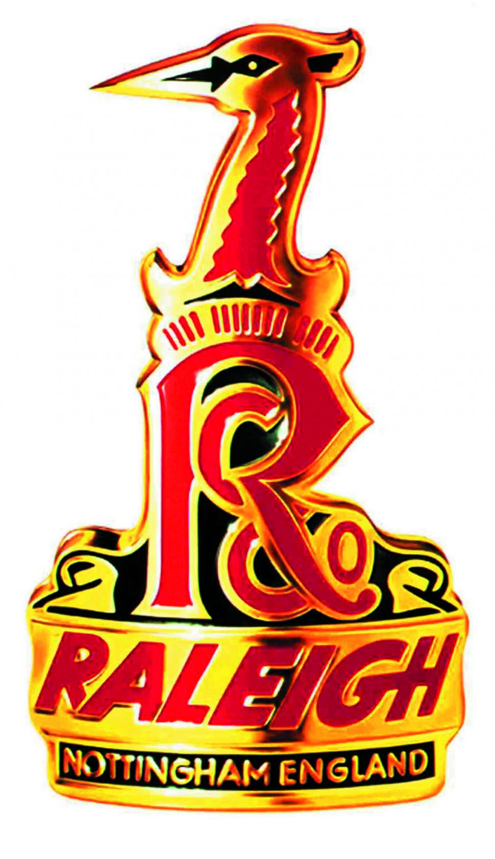 Raleigh headbadge logo
