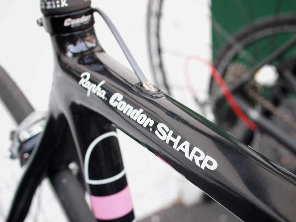 Rapha Condor Sharp top tube