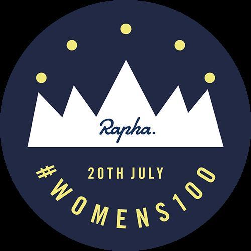 Rapha Womens 100 badge