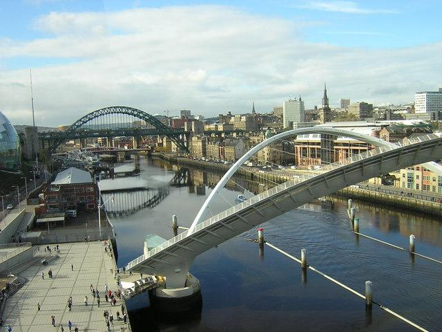 River Tyne (Rob Bishop-Wikimedia Commons