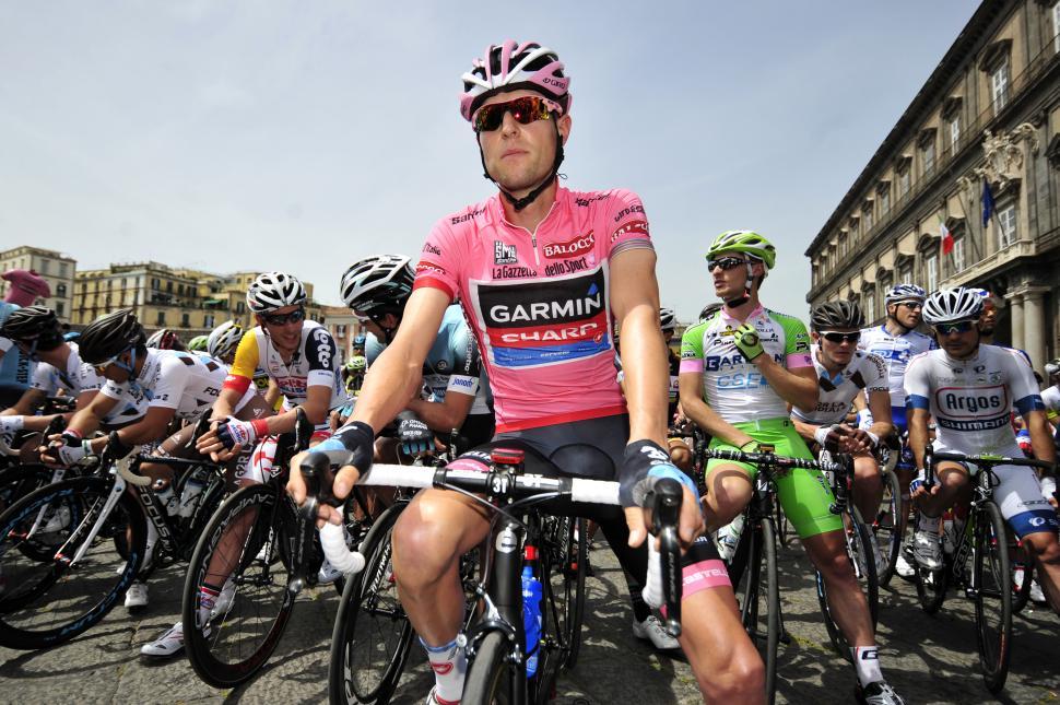 Ryder Hesjedal at 2013 Giro start (pic Gian Mattia d'Alberto, LaPresse, RCS Sport)