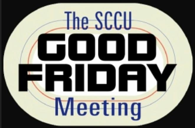 SCCU Good Friday Meeting logo