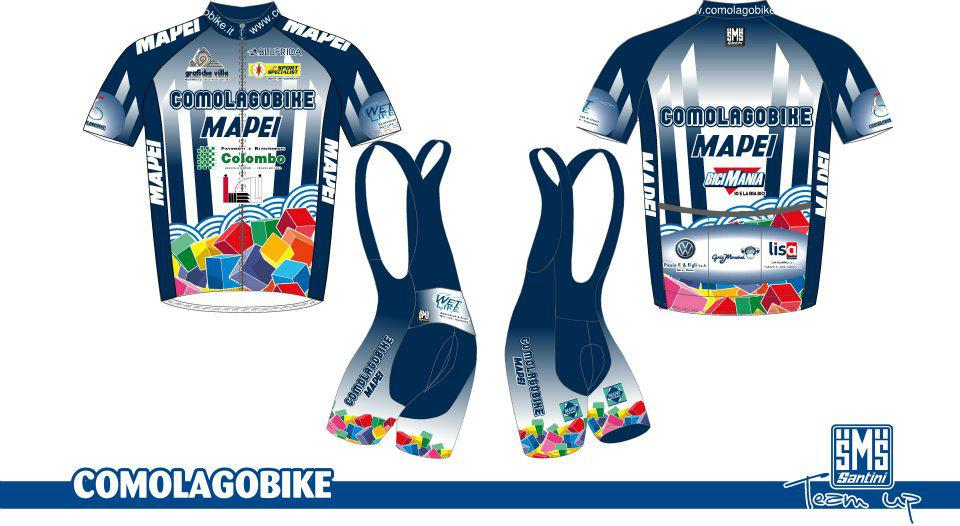 Santini Team Up Facebook comp Comolagobike FTW