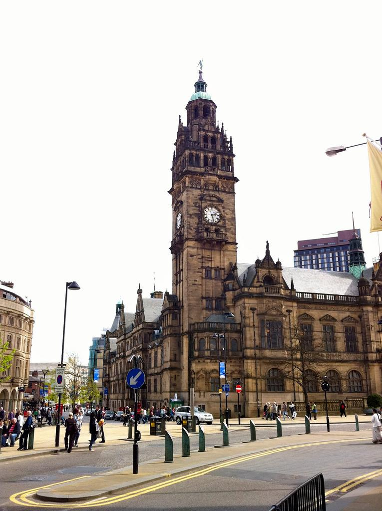 Sheffield Town Hall (CC licenced by James F Clay:Flickr)
