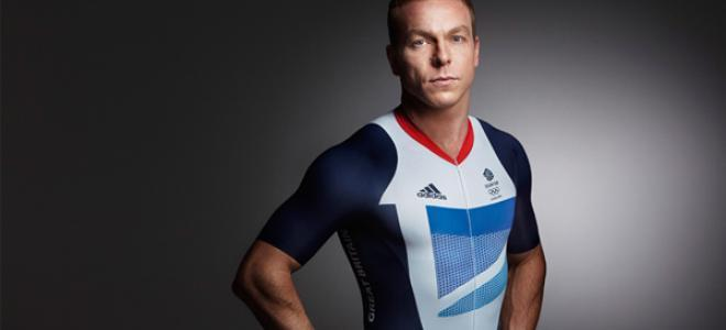 Sir Chris Hoy in 2012 Team GB kit (pic Team GB)