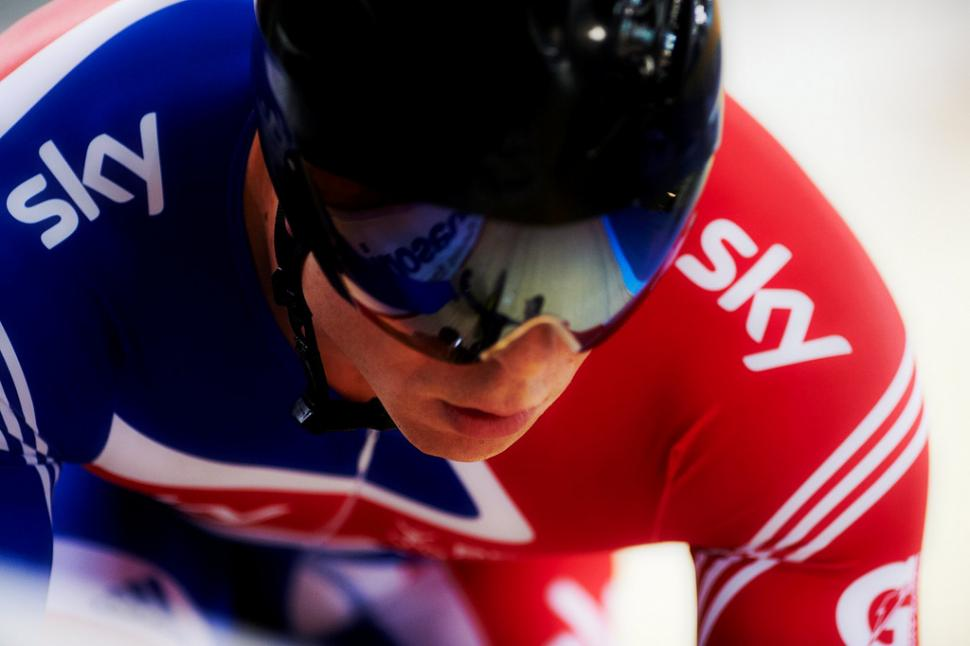 Sir Chris Hoy, Melbourne 2012 (picture credit www.britishcycling.org.uk)