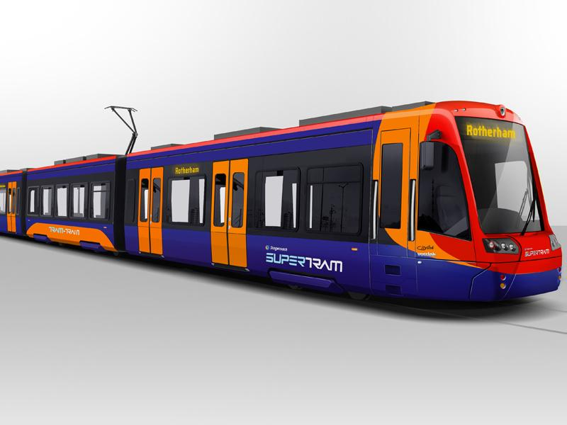 Sheffield Supertram Middlewood - YouTube