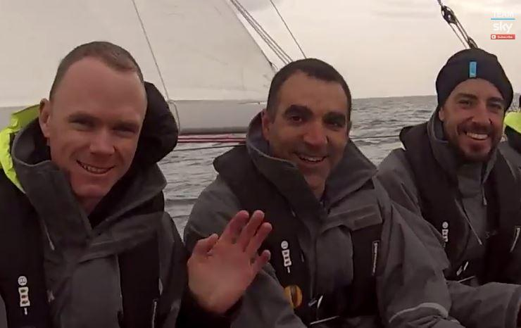 Team Sky sailing day Oct 2014 YouTube still