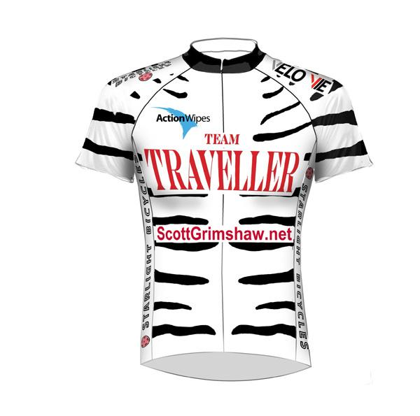 Team Traveller 2011 jersey