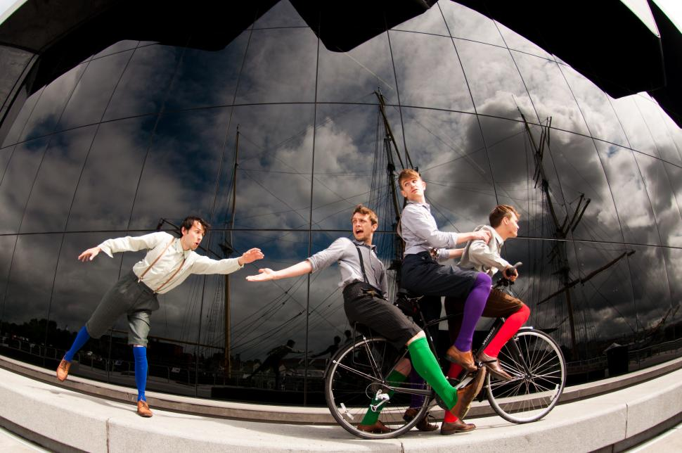 The HandleBards (picture credit Callum Cheatle)