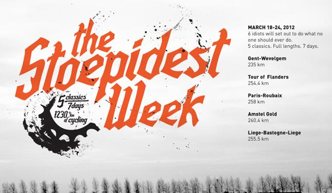 The Stoepedist Week graphic