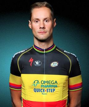 Tom Boonen in Belgian national champions kit (picture OPQS)