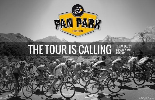 Tour de France Fan Park 2013 poster