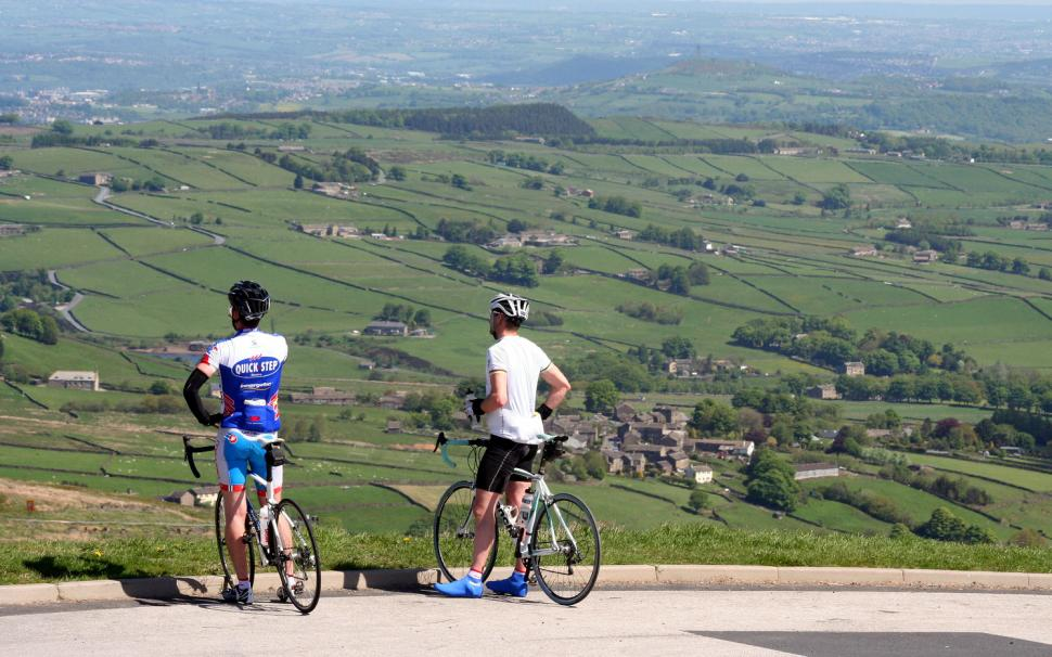 Tour de France riders are not expected to stop and take in the view from Holme Moss (CC licensed image by Ulleskelf:Flickr)