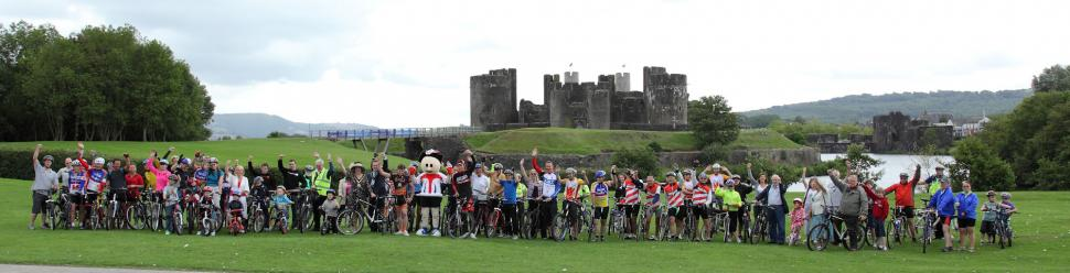 Tour of Britain launch Caerphilly.JPG