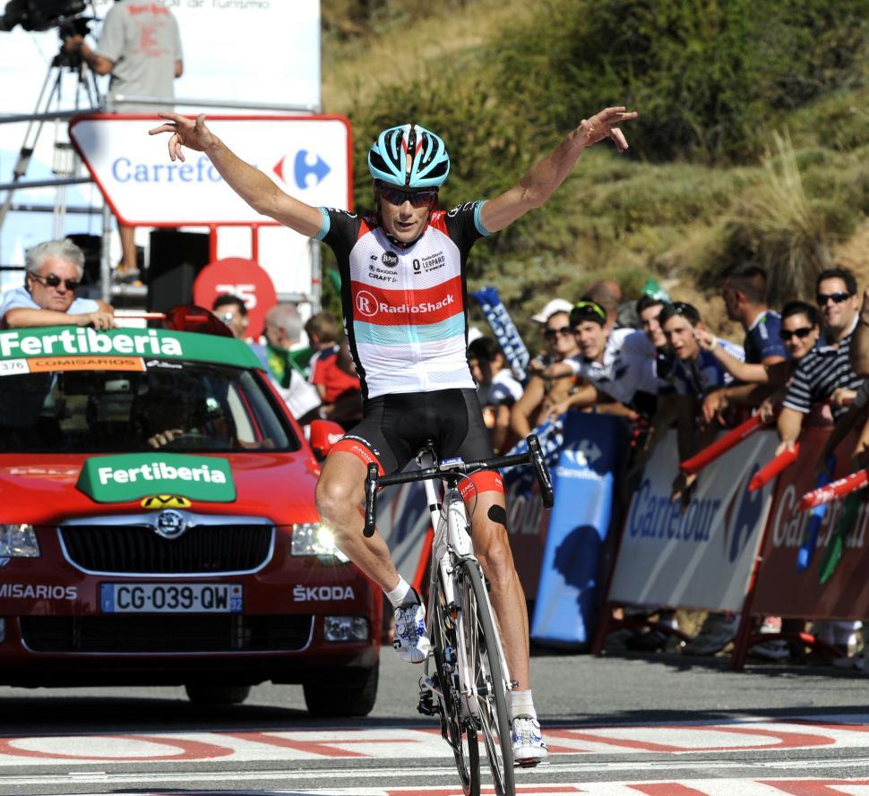 Vuelta 2013 Stage 10 - Chris Horner wins (© Unipublic:Graham Watson)