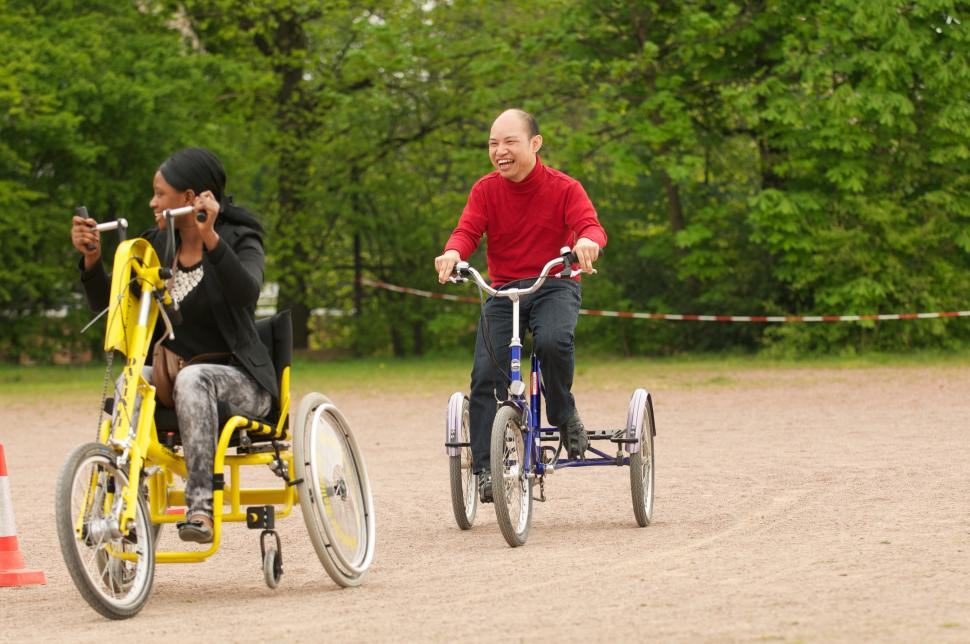 Wheels for Wellbeing handcycle and trike
