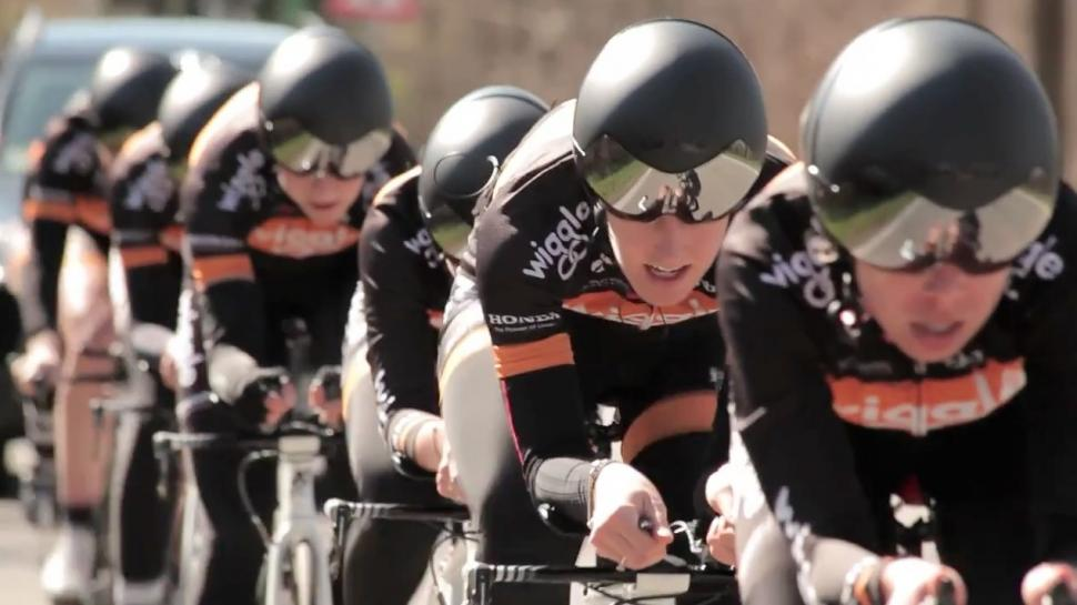 Wiggle Honda TTT training video still