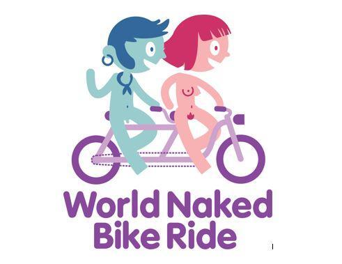 World Naked Bike Ride logo