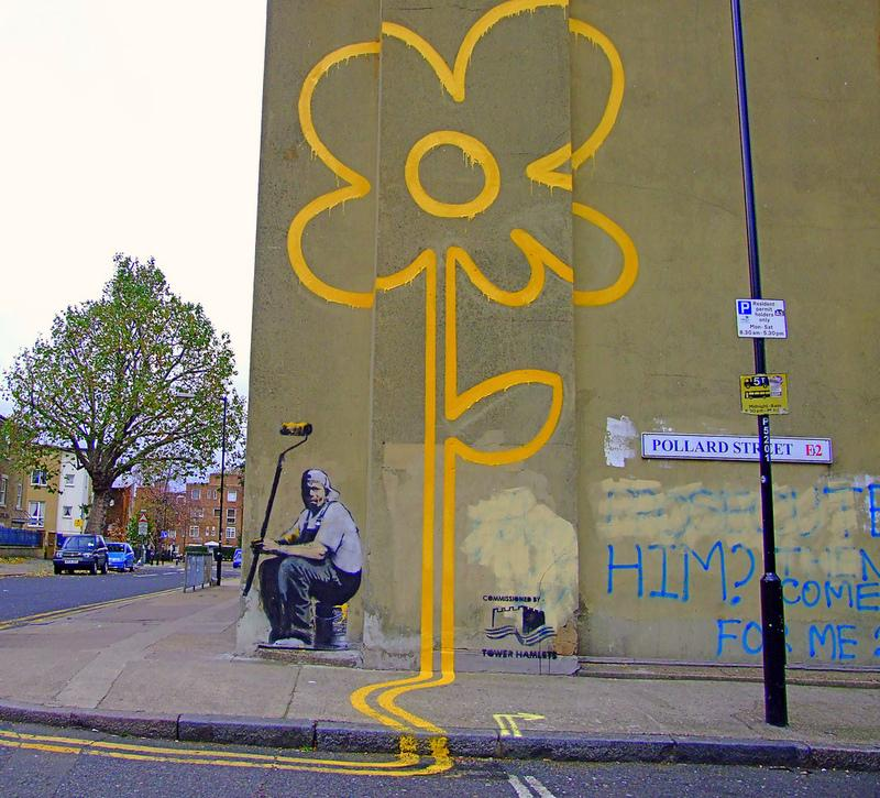 banksy double yello (copyright judepics via Flickr)