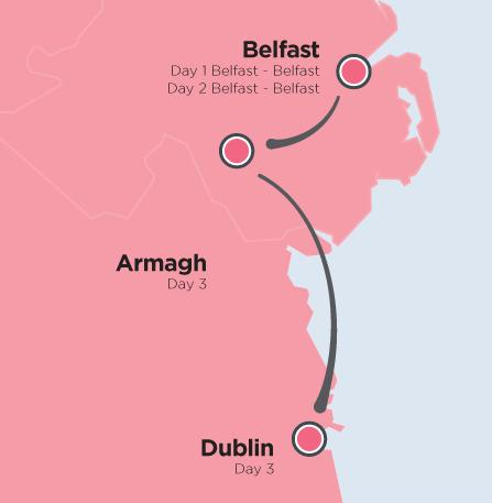 Giro 2014 outline map