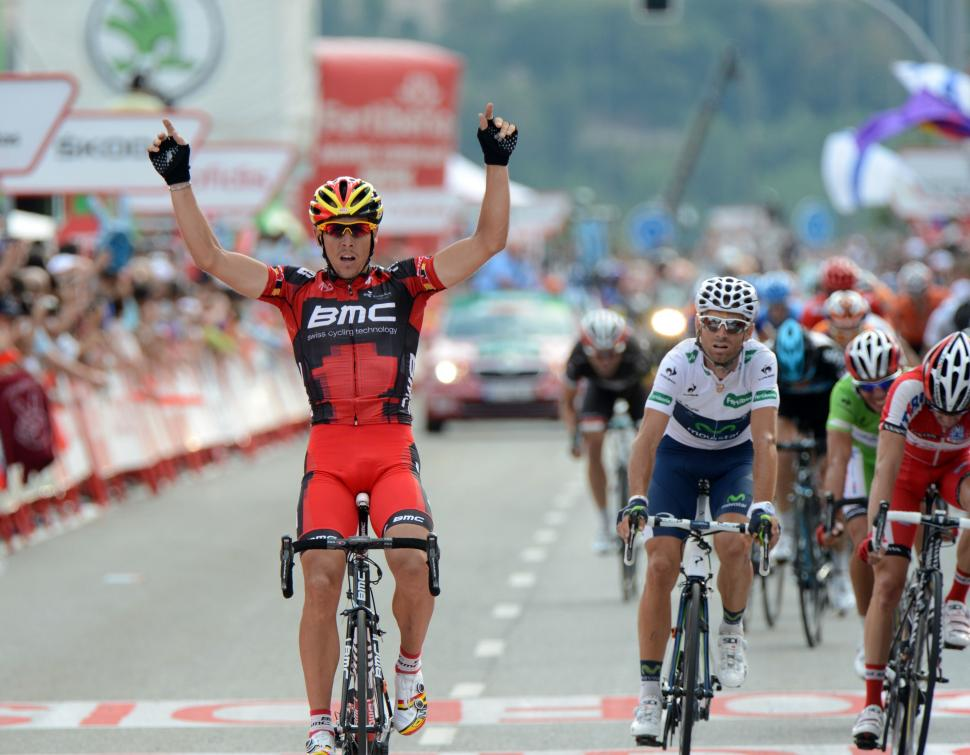 vuelta 2012 S19 Philippe Gilbert wins (copyright Unipublic:Graham Watson)