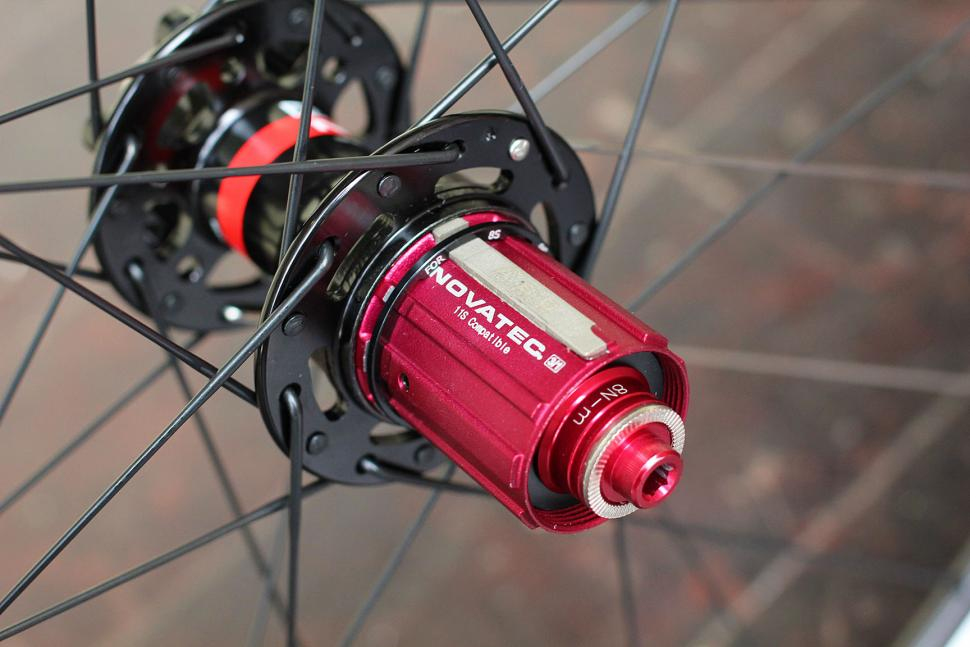 Novatec R3 Disc wheelset - freehub
