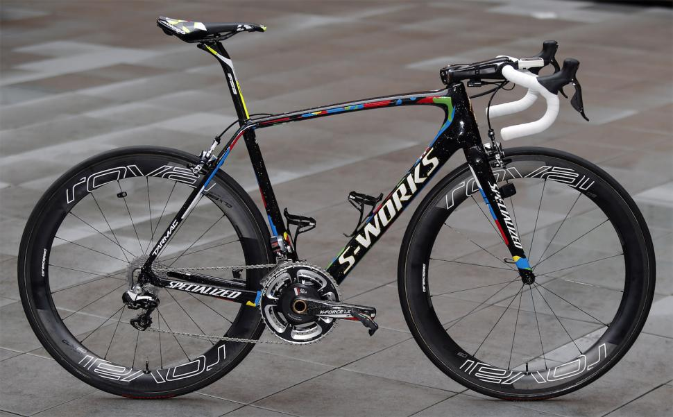 Peter Sagan S World Champion Livery Specialized Tarmac