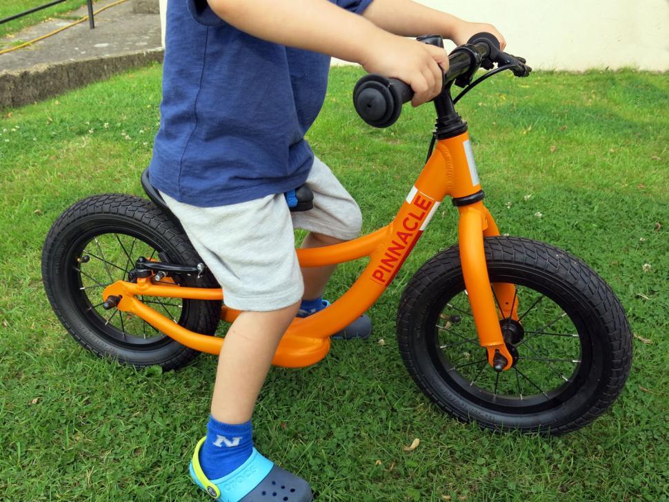Pinnacle Tineo Balance Bike - riding
