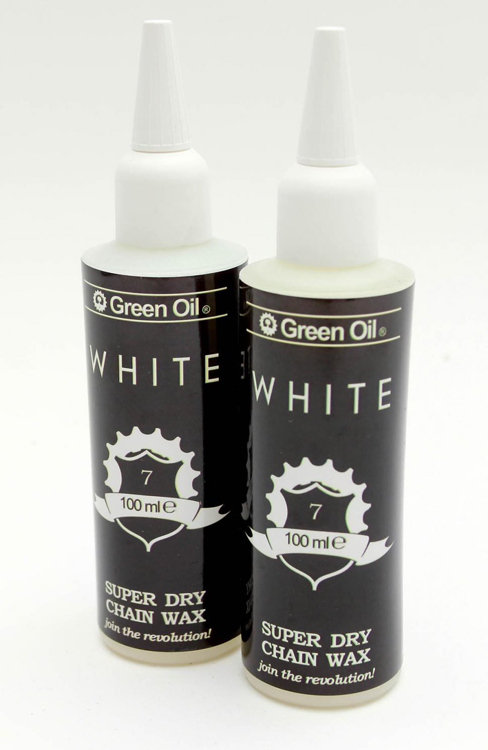 Green Oil White chain wax
