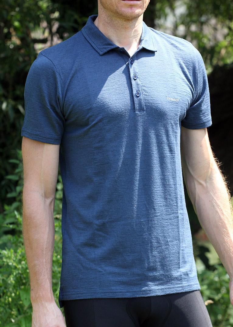Howies Jesse Merino Polo Shirt