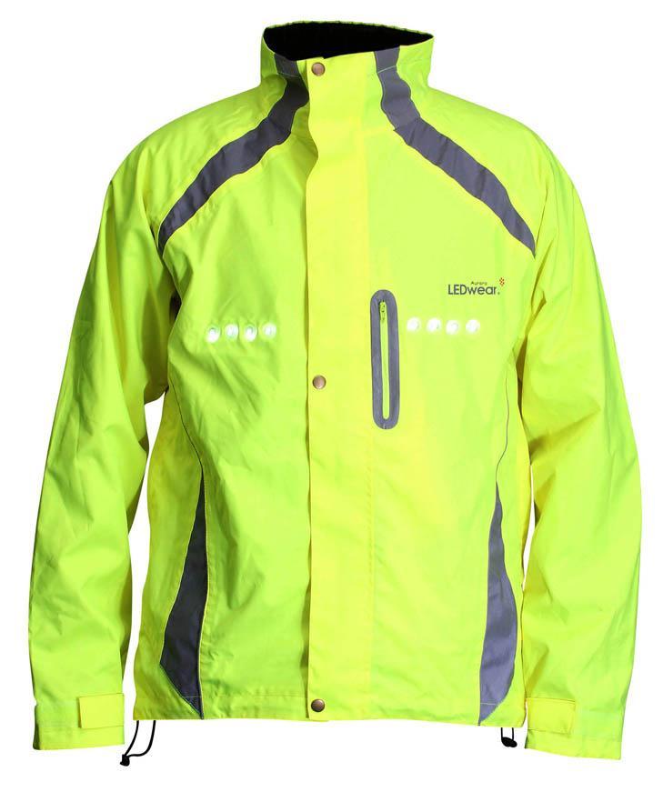 LEDwear Aurora LED jacket front