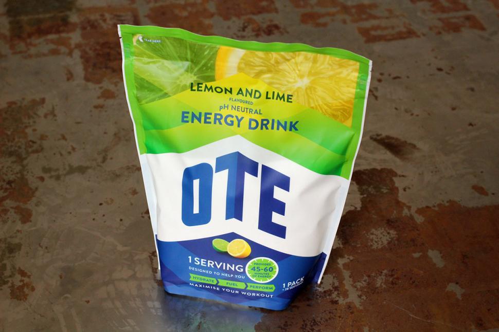 OTE Lemon and Lime Energy Drink Bulk Pack