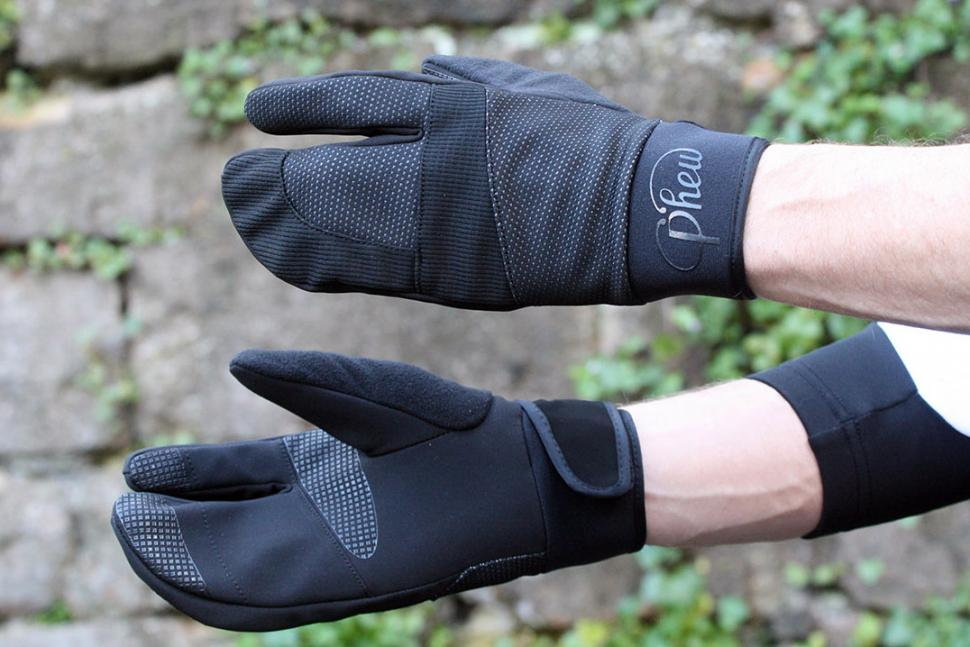 Phew Lobster Outer Shell Winter Cycling Gloves