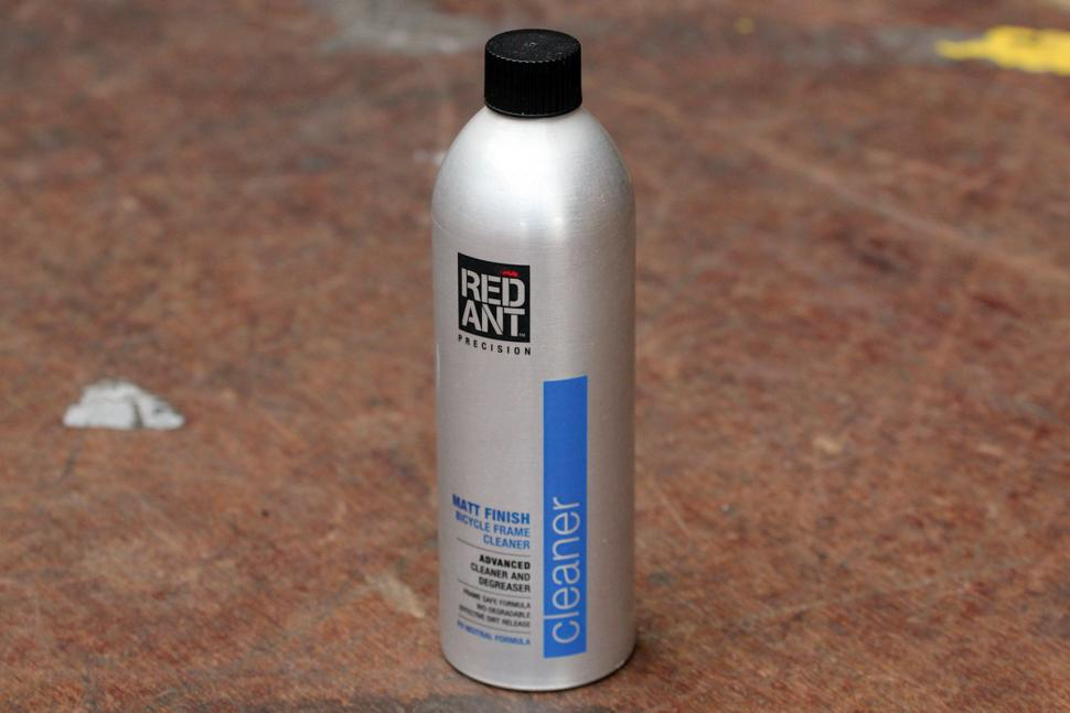 Red Ant Matt Finish Bicycle Frame Cleaner