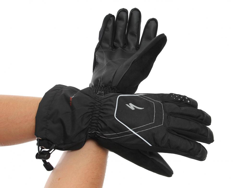 Specialized Sub Zero glove worn