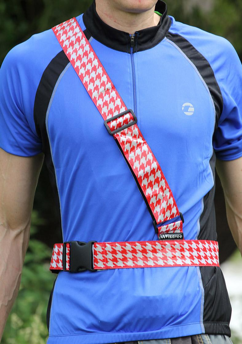 Vizavee Reflective Sam Browne Belt