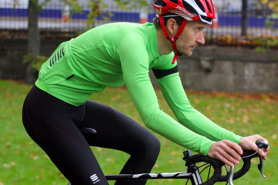 Rapha Long Sleeve Pro Team Jersey - riding