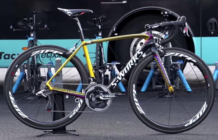 Pro Bike Rigoberto Uran S Specialized S Works Tarmac Video