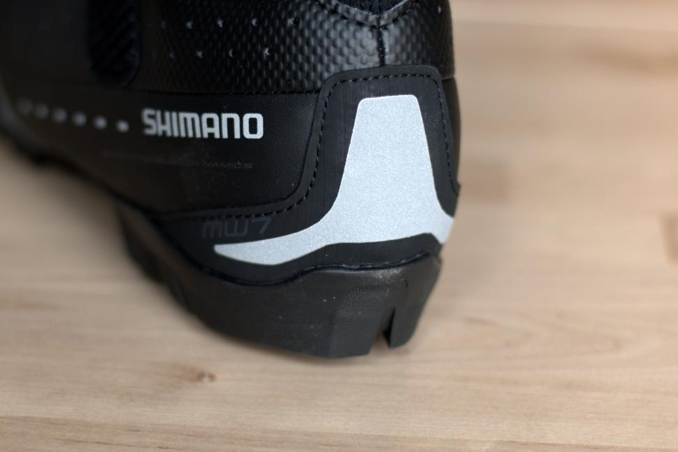 37a78b3ad72 Shimano MW7 winter boots - heel cup