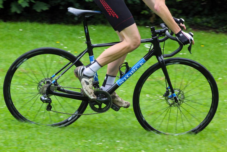 exclusive first ride storck t i x cyclo cross bike. Black Bedroom Furniture Sets. Home Design Ideas