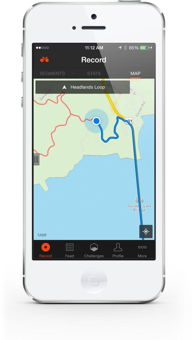 Strava mobile app 2