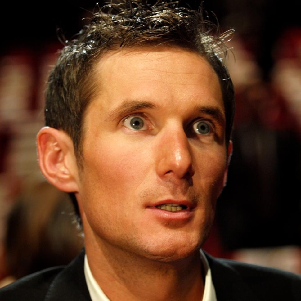 Frank Schleck at the 2011 Tour de France Presentation © Simon MacMichael