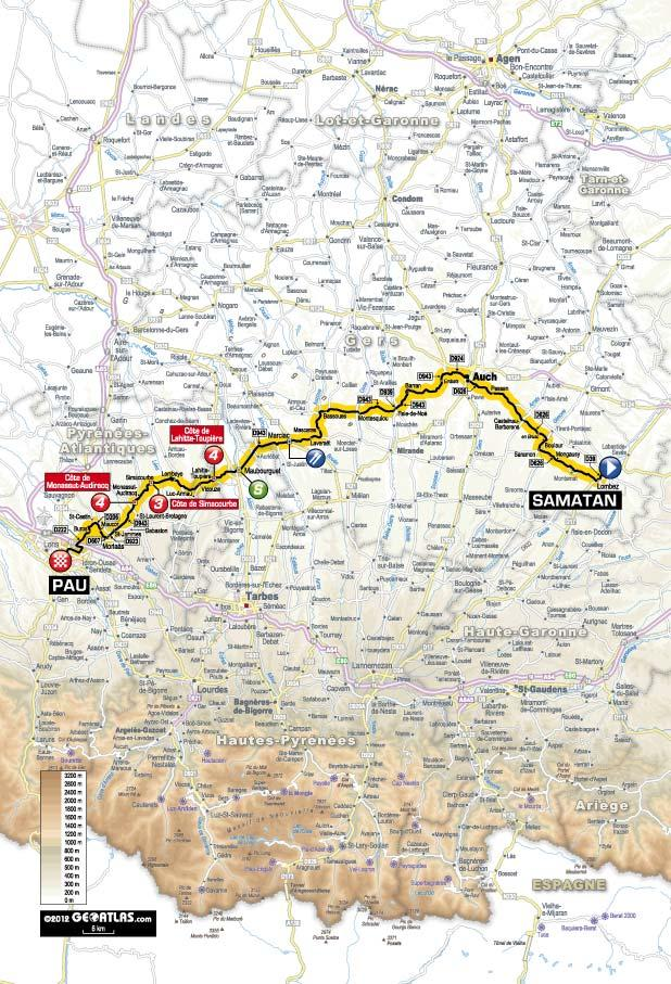 TDF 2012 S15 map