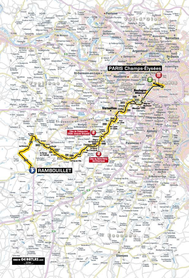 TDF 2012 S20 map