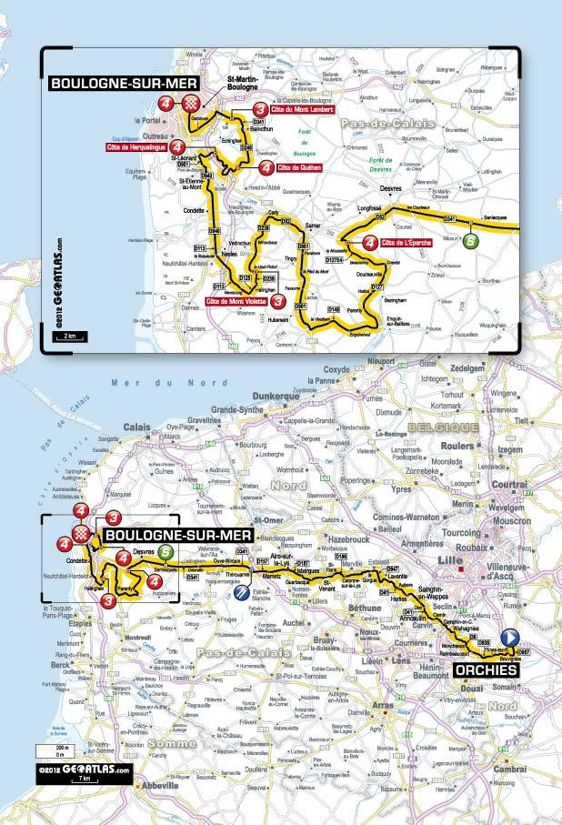 TDF 2012 S3 map